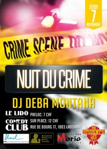 Nuit du Crime 2013 affiche