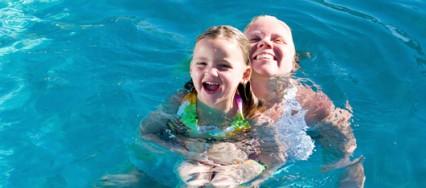 Le bien-fait de l'eau et de la baignade