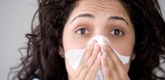 Si vous avez un rhume, ce n'est pas à cause du froid!