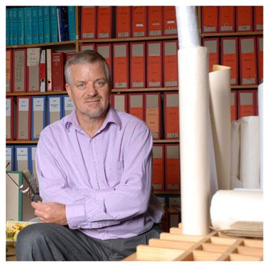 Peter Baumgartner. Professeur de géologie à l'UNIL. @ Nicole Chuard