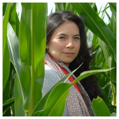 Nelly Niwa. Doctorante à l'UNIL et directrice du projet «Vaud 2030: quelle agriculture pour quel territoire?» Nicole Chuard © UNIL