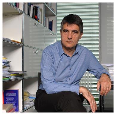 Philippe Bacchetta. Professeur au Département d'économétrie et d'économie politique de la Faculté des hautes études commerciales de l'UNIL. Nicole Chuard © UNIL
