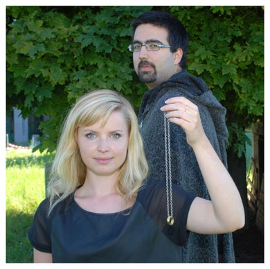 Victoria Baumgartner et Amrit Singh. Mémorants en Section d'anglais à l'UNIL. Nicole Chuard © UNIL