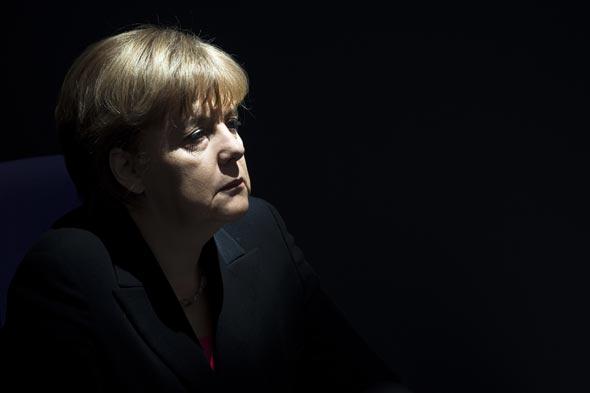 Angela Merkel. La chancelière allemande fait preuve de fermeté face aux pays européens en crise.© Markus Schreiber - Keystone