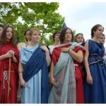 Mystères de l'UNIL. Reconstitution de Jeux antiques. Photo Nicole Chuard © UNIL