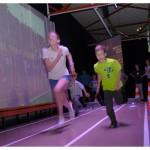 Mystères de l'UNIL. Se mesurer à Usain Bolt lors d'un sprint. Photo Nicole Chuard © UNIL