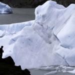 Blocs du glacier Grey détachés. © Fabrice Ducrest