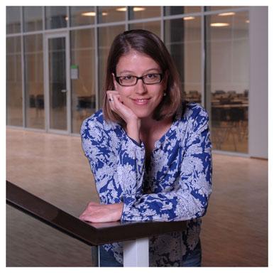 Isabel Baumann. Assistante diplômée de l'Institut des sciences sociales de l'UNIL et chercheuse au Pôle de recherche national LIVES. Nicole Chuard © UNIL
