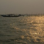 Pêcheurs sur le Chilika Lake. © Joëlle Proz