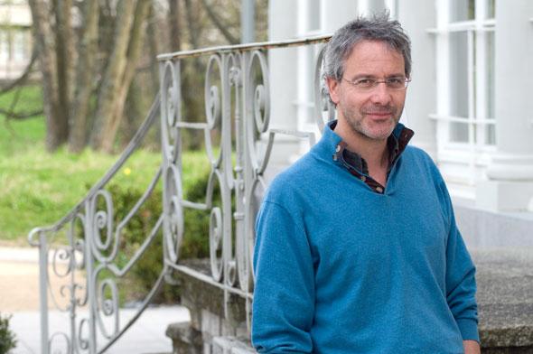 Jérôme Meizoz. Félix Imhof © UNIL