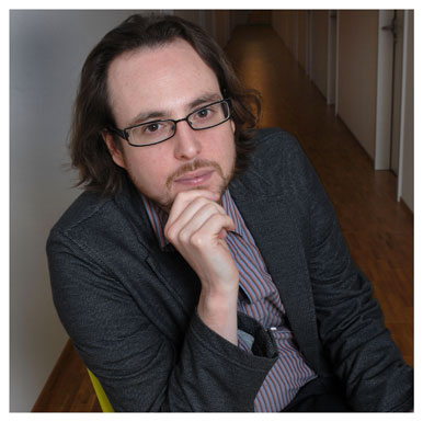 Michaël Meyer. Premier assistant à l'Institut des sciences sociales. Nicole Chuard © UNIL