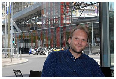 Jean-François Bert. Maître d'enseignement et de recherche. © Nicole Chuard