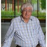 Claude Voelin. Professeur honoraire. Nicole Chuard © UNIL