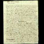 La Harpe, Frédéric-César de, Lettre à Etienne Henri Georges Polier, Varsovie, 15 février 1783