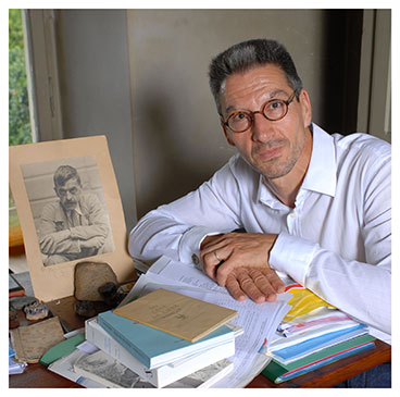 Daniel Maggetti. Directeur au Centre de recherches sur les lettres romandes. Nicole Chuard © UNIL