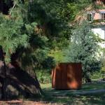 Sculptures sur le campus. Projet collectif de 19 artistes. Septembre 2013 à décembre 2014. stramatakis © UNIL