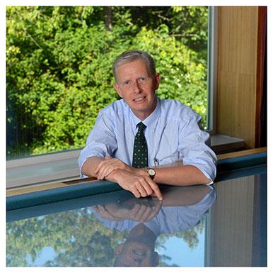 Christophe Büla. Chef du service de gériatrie et de réadaptation gériatrique du CHUV. Nicole Chuard © UNIL