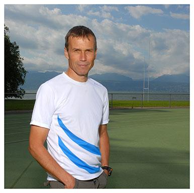 Grégoire Millet. Professeur à l'Institut des sciences du sport (ISSUL). Nicole Chuard © UNIL