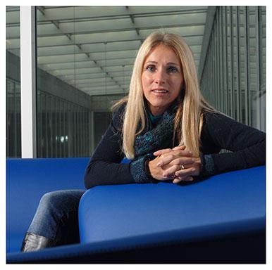 Roberta Antonini Philippe. Maître d'enseignement et de recherche à l'Institut des sciences du sport. Nicole Chuard © UNIL