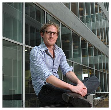 Jérôme Berthoud. Assistant à l'Institut des sciences du sport de l'Université de Lausanne. Nicole Chuard © UNIL