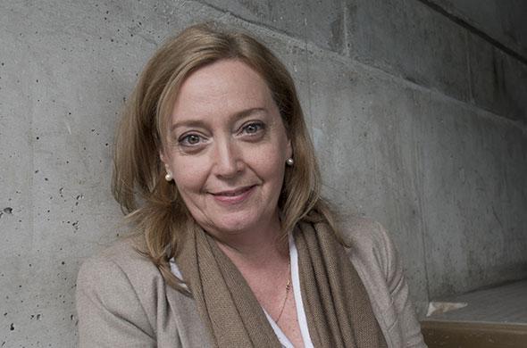 Ariane Baehni. Licence en Sciences économiques en 1982. Master en Théologie en 2012. Pasteure suffragante. © Pierre-Antoine Grisoni - Strates.