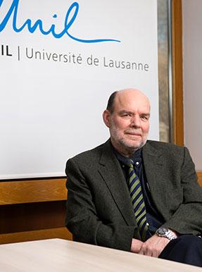 Jacques Lanarès. Vice-recteur de l'UNIL, en charge de la qualité et des ressources humaines. Félix Imhof © UNIL