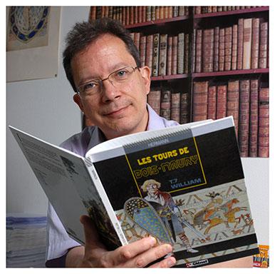 Alain Corbellari. Professeur associé en section de Français. Nicole Chuard © UNIL