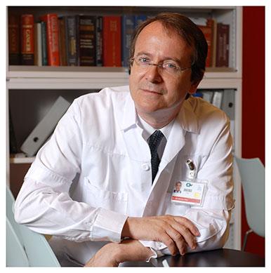 Éric Raymond. Chef du service d'oncologie médicale du CHUV. Nicole Chuard © UNIL