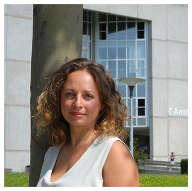 Sarah Baccianti. Première assistante en section d'Anglais, spécialiste des Vikings. Nicole Chuard © UNIL