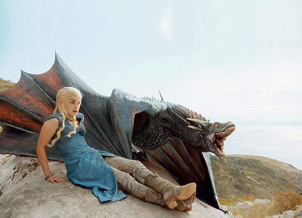 «Le trône de fer». Chaque épisode de la 4e saison de cette série a rassemblé 18,6 millions de fans. © HBO - Keystone/Everett Collection