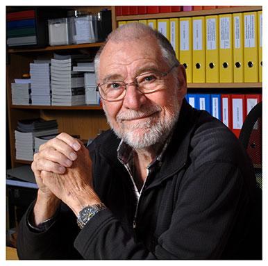 Alain Schärlig. Professeur honoraire. Nicole Chuard © UNIL