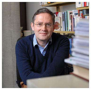 Béla Kapossy. Historien des idées et professeur associé à l'UNIL. Nicole Chuard © UNIL