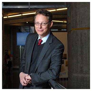 Jörg Stolz. Doyen de la Faculté de théologie et de sciences des religions. Nicole Chuard © UNIL