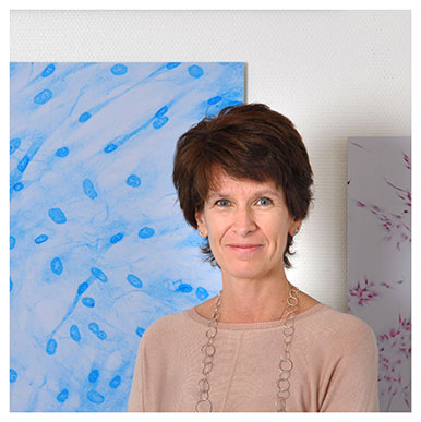 Lee Ann Laurent-Applegate. Professeure et responsable de l'Unité de thérapie régénérative du CHUV. Nicole Chuard © UNIL
