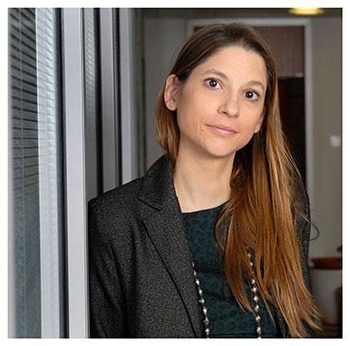 Mélina Andronicos. Coordinatrice de la formation et psychologue responsable de recherche au Centre du jeu excessif (CHUV). Nicole Chuard © UNIL
