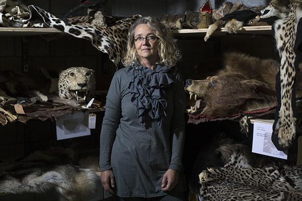 Nathalie Rochat. Diplôme de biologie en 1995. © Luca Da Campo / Strates