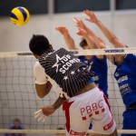 Dorigny, le 25 octobre 2014. Jirayu Raksakaew, dit «James», joue avec le LUC Volleyball, en Ligue nationale A. Photo Olivier Zeller / photographicglance.com