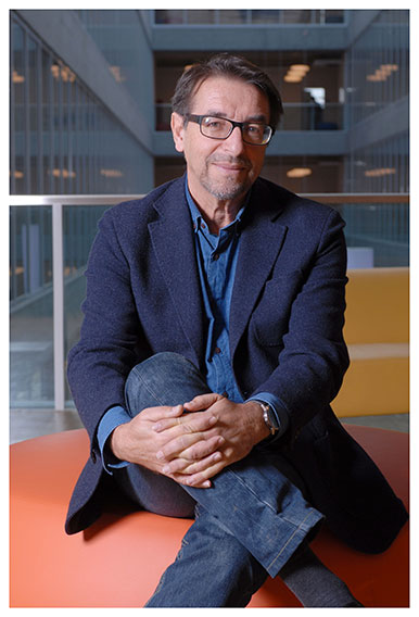 Antonio Da Cunha Professeur à l'Institut de géographie et durabilité et directeur du MAS «Urbanisme durable». Nicole Chuard © UNIL