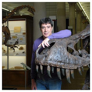 Robin Marchant Conservateur au Musée cantonal de géologie et chercheur à l'UNIL. Nicole Chuard © UNIL
