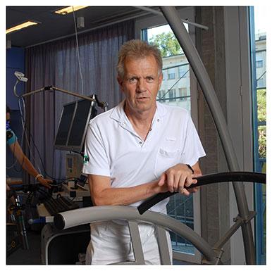 Gérald Gremion. Médecin-chef au Swiss Olympic Medical Center, médecin adjoint au Département de l'appareil locomoteur du CHUV. Nicole Chuard © UNIL