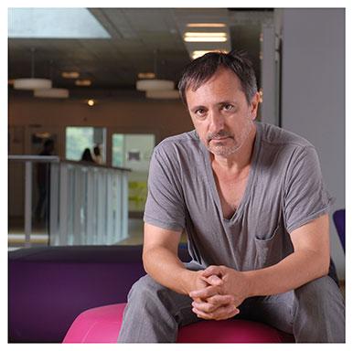 Gianni Haver. Professeur associé à l'Institut des sciences sociales. Nicole Chuard © UNIL