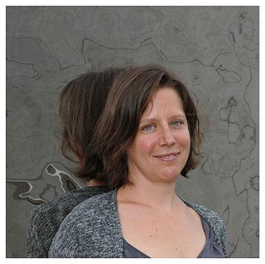 Ursina Kuhn. Chercheuse à la Fondation suisse pour la recherche en sciences sociales. Nicole Chuard © UNIL