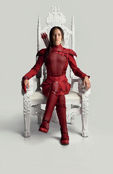 Katniss. Symbole de rébellion, le personnage principal de Hunger Games utilise souvent la force. © Lionsgate