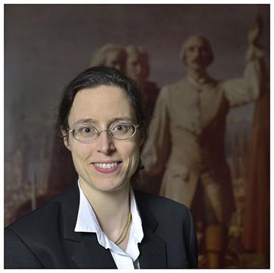 Valentine von Fellenberg. Première assistante en histoire de l'art. Nicole Chuard © UNIL