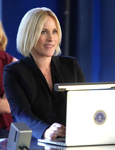 « LES EXPERTS : CYBER » Dans cette série, Avery Ryan (incarnée par Patricia Arquette) dirige une agence du FBI en charge de la lutte contre la cybercriminalité. @ CBS Photo Archive / Getty Images