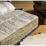 Manuscrits d'Alexandre César Chavannes (1731-1800). Photo Nicole Chuard © UNIL
