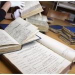 Manuscrits d'Alexandre César Chavannes (1731-1800). Photo Nicole Chuard © UNI