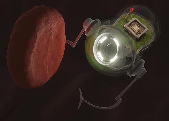 Médiatisés dans les années 2000, les nanos-robots devaient permettre de réparer le corps humain de l'intérieur. © ktsimage / iStock by Getty image