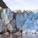 Le glacier Tunabreen au Spitzberg. Photo © Antonio Abellan / Risk Analysis Group