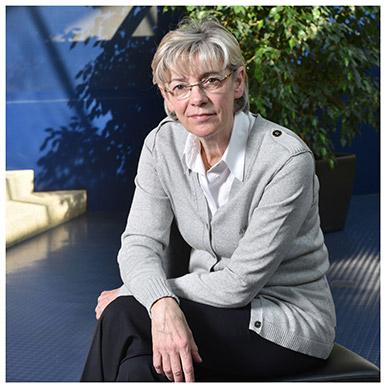 Délia Nilles. Directrice adjointe de l'Institut Créa de macroéconomie appliquée. Maître d'enseignement et de recherche. Nicole Chuard © UNIL